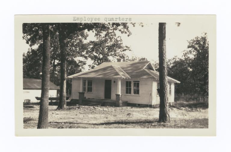 Employee Quarters, Choctaw-Chickasaw Sanatorium, Talihina, Oklahoma