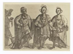 Three American Cherokee Chiefs, 1762