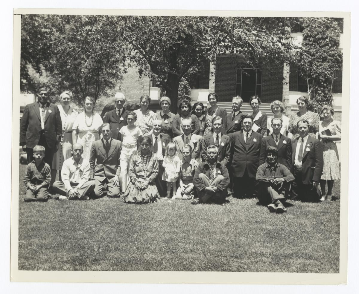Methodist Conference Representatives, Farmington, New Mexico