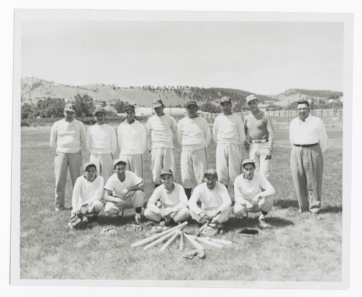 Summer 1952 Championship Baseball Team