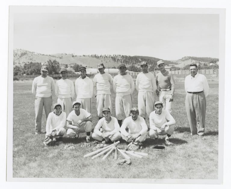 Summer 1952 Championship Baseball Team