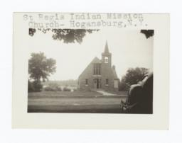 St. Regis Indian Mission Church Building, Hogansburg, New York