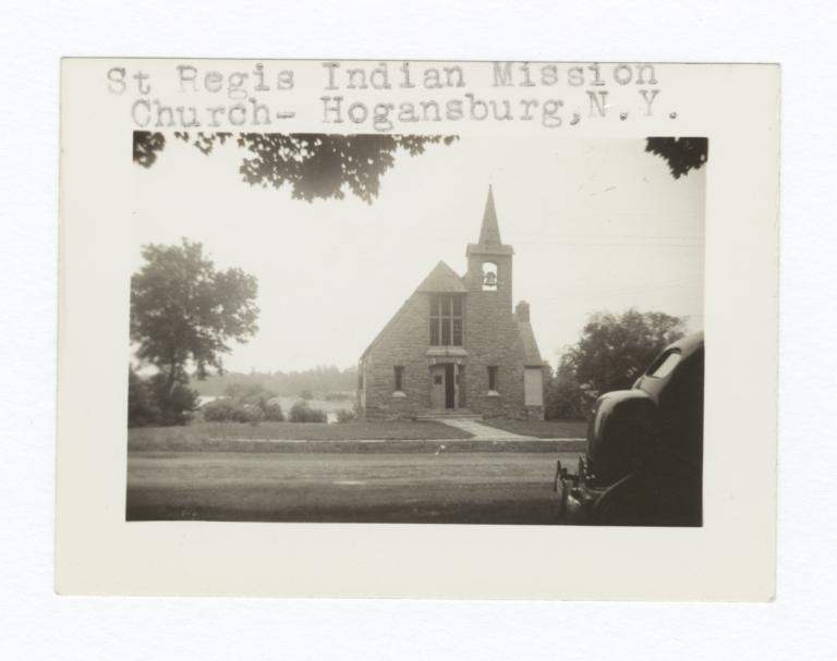 St. Regis Indian Mission Church Building, Hogansburg, New York