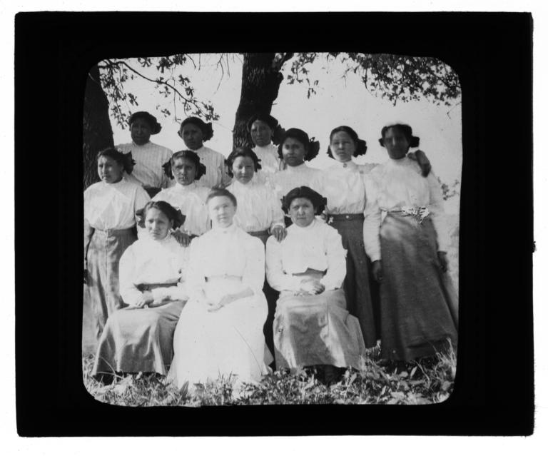 Group of Women beneath a Tree