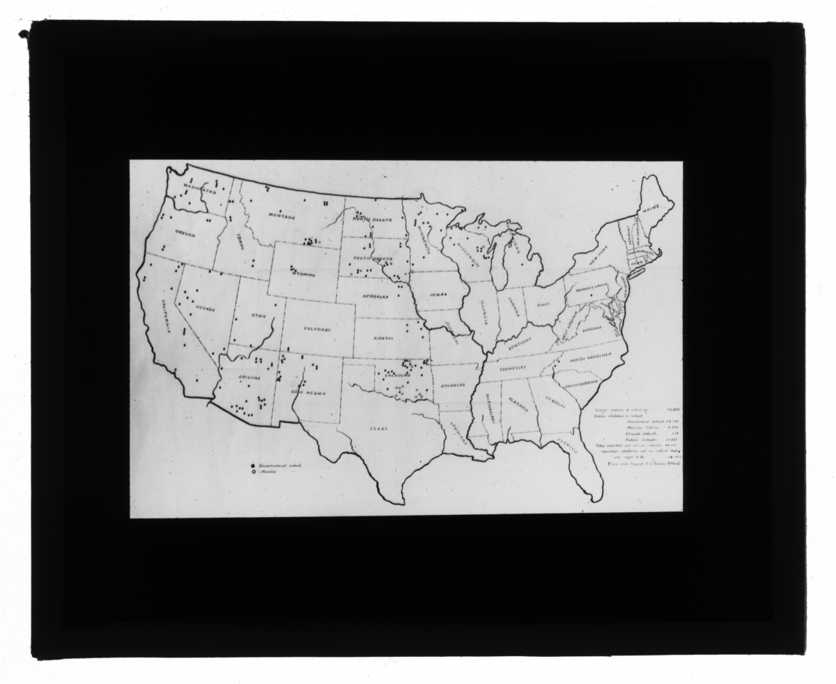 Map of the Continental United States