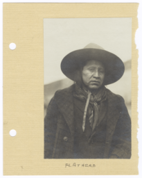Salish Man in Hat and Jacket