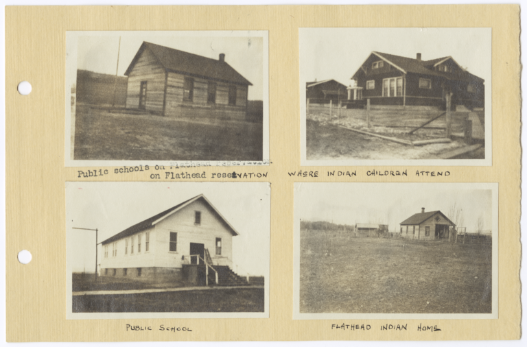 Buildings on the Flathead Reservation, Montana