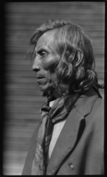 Portrait of an American Indian Man