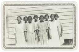 Sunday School Class of Girls