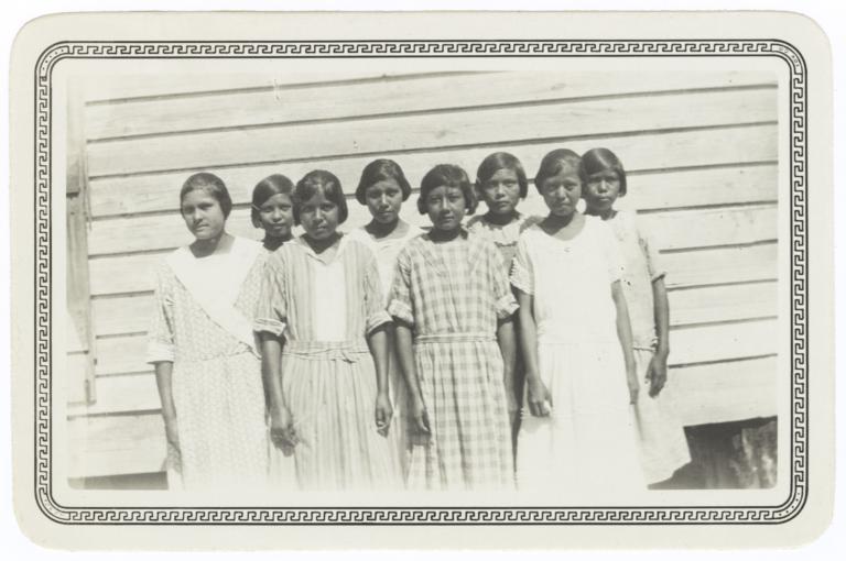 Sunday School Class of Girls