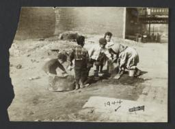 Children in Vacant Lot