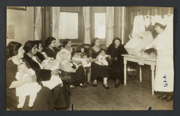 Mulberry Health Center Album -- Child-care Training at the Mulberry Health Center