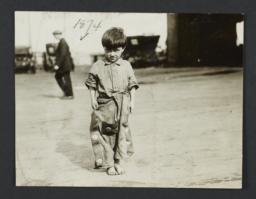 Little Boy in Baggy Pants