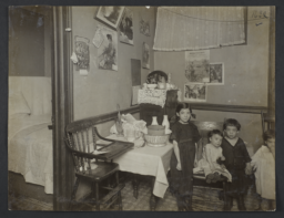 Four Children in a Tenement