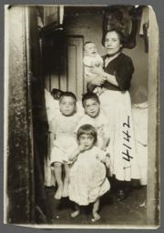 Family in Doorway