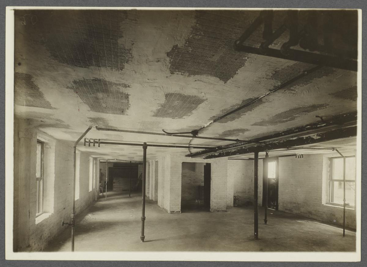 Bare Room with Pipes