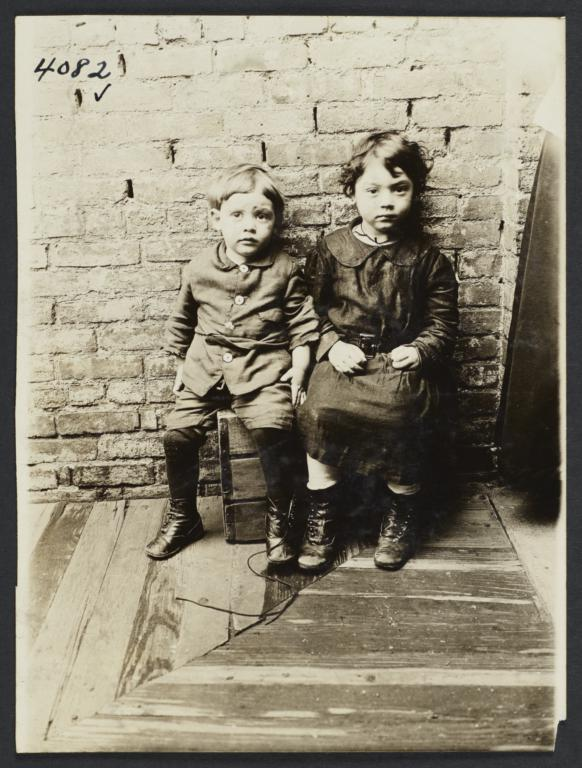 Two Tenement Children