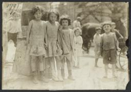 Children near Pushcarts