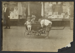Three Children with Carriage