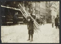Boy with Bundle of Wood