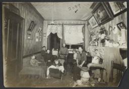 Family in Tenement Room