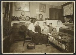 Mulberry Health Center Album -- Prenatal Nurse with Family