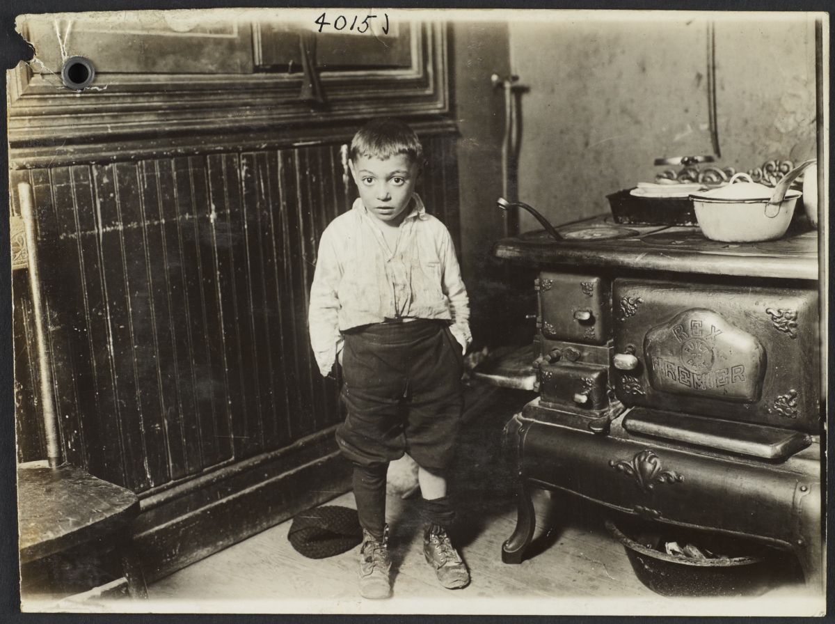 Little Boy near Stove