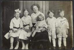 Mother with Children, Seated and Standing