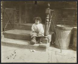 Little Girl on Stoop