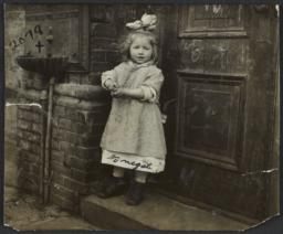 Girl near Door