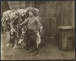 Boy with Rags