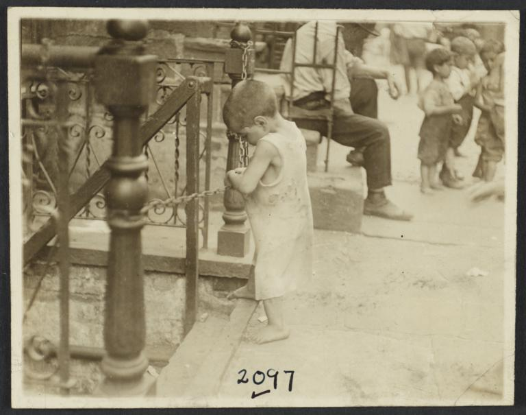 Child with Chain