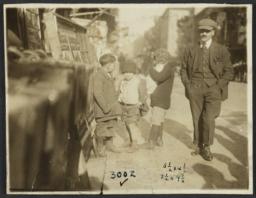 Man and Three Boys