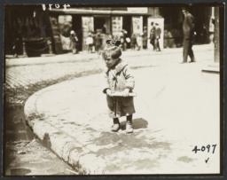 Girl Looking at Curb