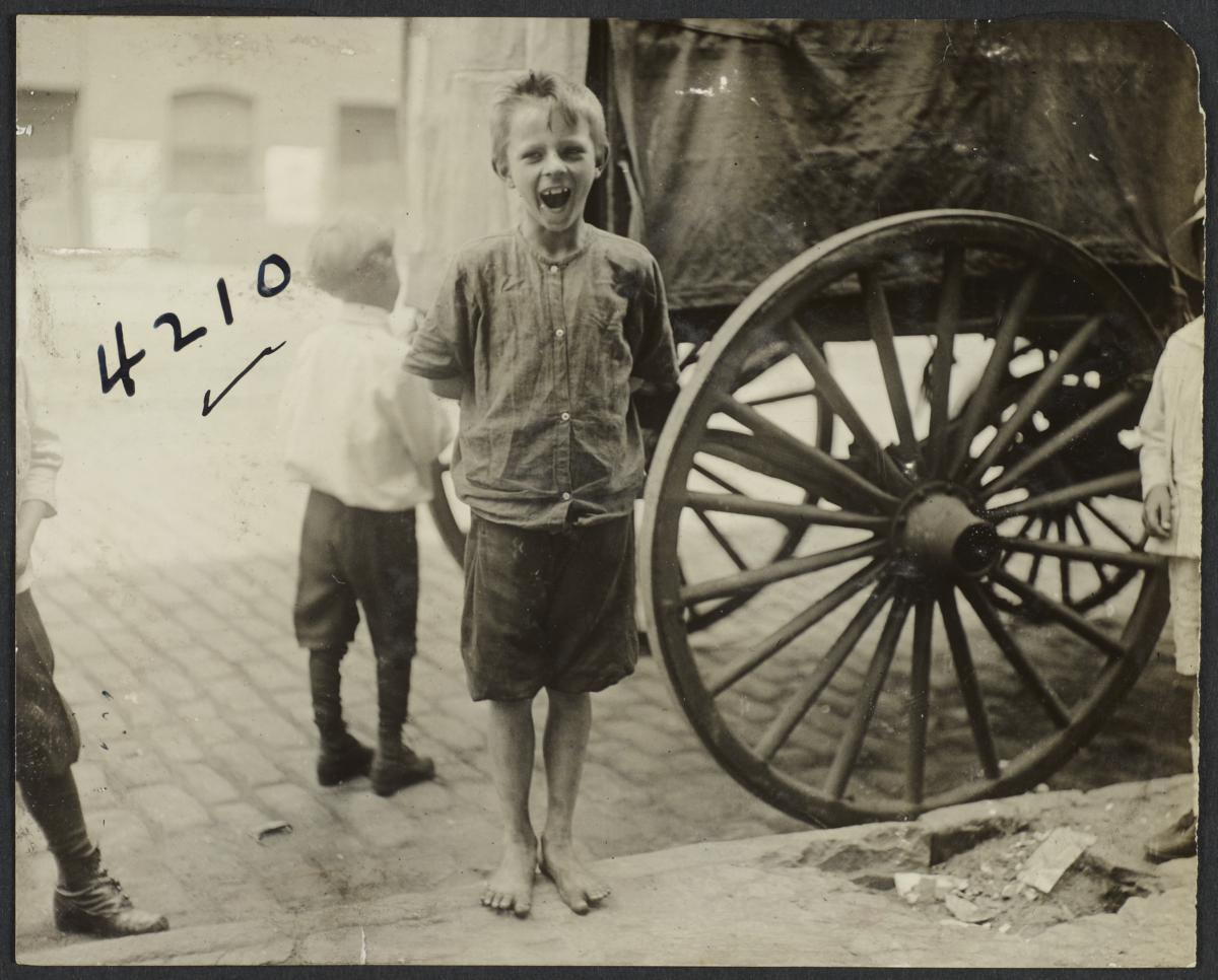 Boy near Carriage