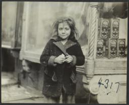 Girl near Storefront Window