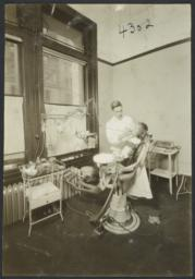 Mulberry Health Center Album -- Girl and Dentist
