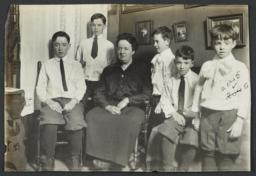 Mother with Five Sons
