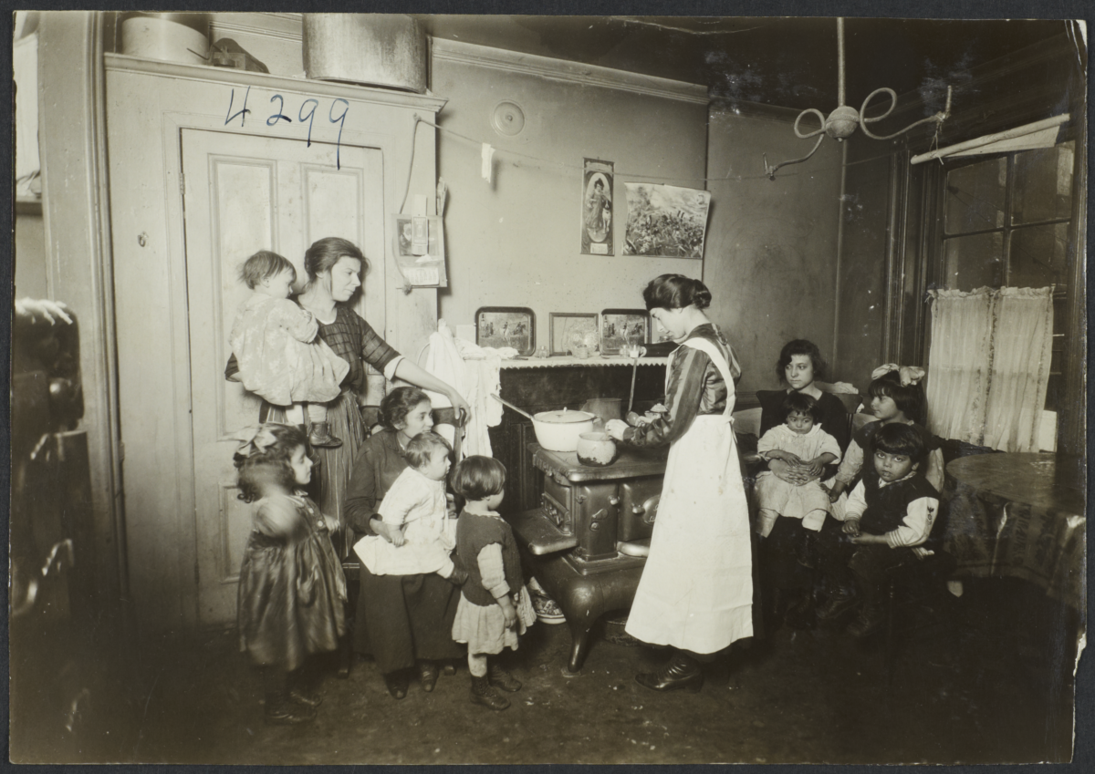 Mulberry Health Center Album -- Building Up the Children of the Tenements