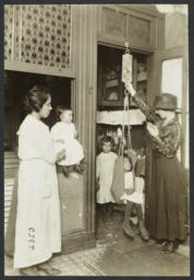 Mulberry Health Center Album -- Weekly Weighing of Children