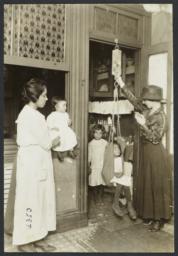 Mulberry Health Center Album -- Weekly Weighing of Children