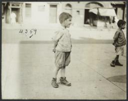 Boys on Sidewalk
