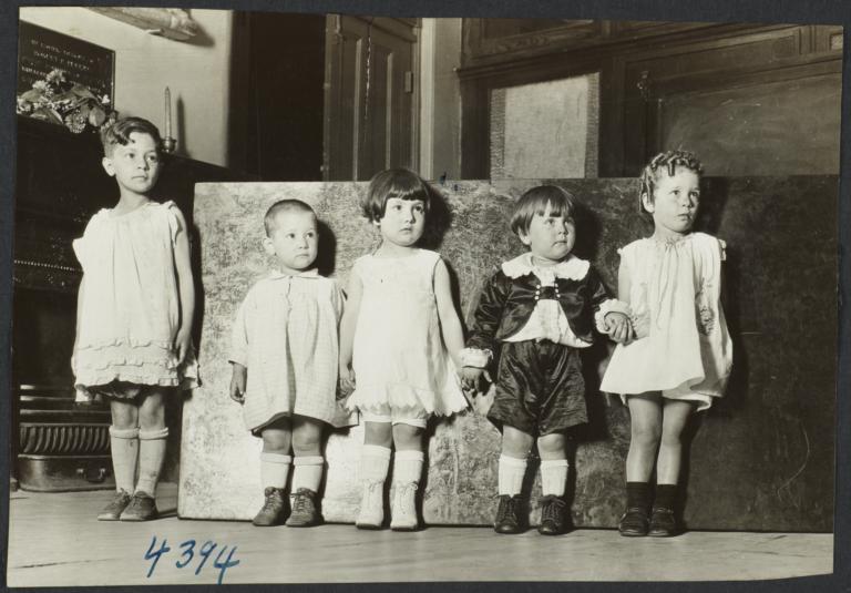 Mulberry Health Center Album -- Children Holding Hands