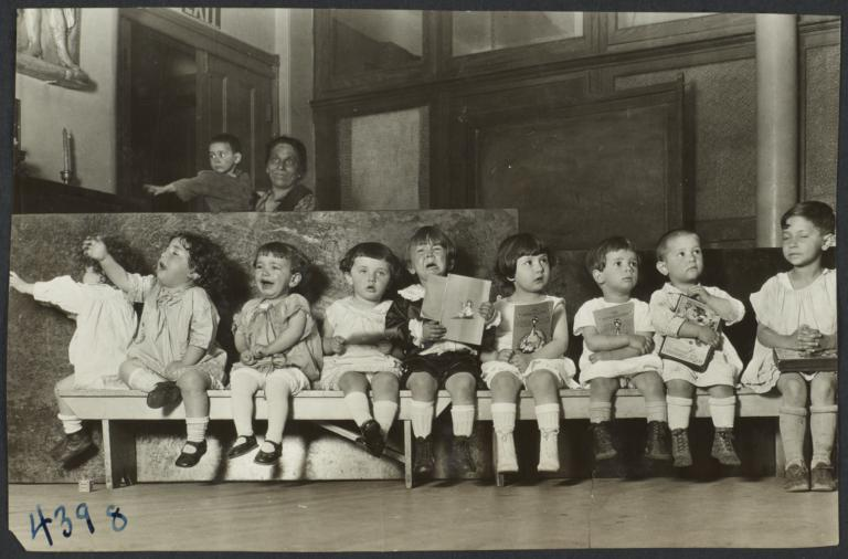 Mulberry Health Center Album -- Children with Books