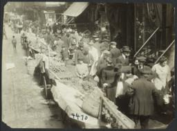Fruit Stands on Mulberry Street