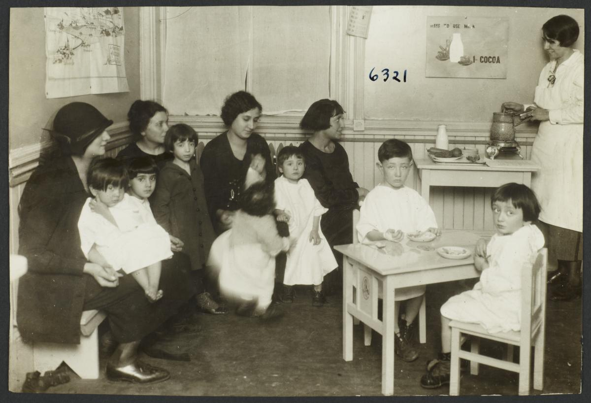 Mulberry Health Center Album -- Nutritionist with Women and Children