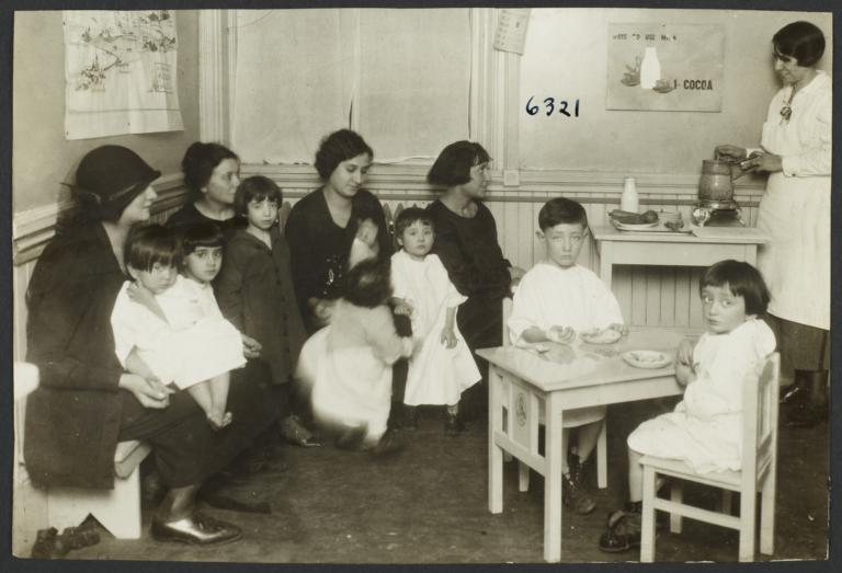 Mulberry Health Center Album -- Nutritionist with Women and Children