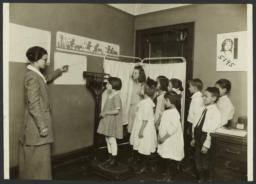 Mulberry Health Center Album -- Children Being Weighed