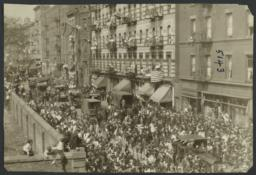 Mulberry Health Center Album -- Parade on Mott Street
