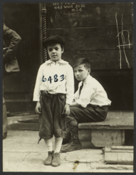 Two Boys on West 31st Street
